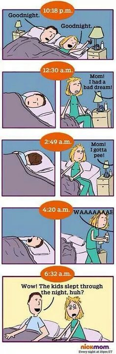 TRUE. There is not a day where I don't wake up in the middle of the night to get them milk.