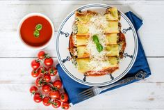 Tangy tomato and creamy ricotta combined with herbs and spices make for a satisfying supper. Serve this slow cooker classic cannelloni with a fresh salad.