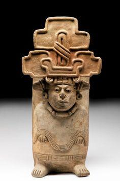 Urna de la diosa Nohuichana - Museo Nacional de Antropología