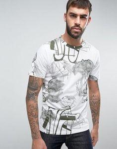 Camiseta con estampado en toda la prenda de Only & Sons