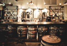 Stranahan's Colorado Whiskey opens a new store and tasting room Whiskey Distillery, Brewery, Wine Bars, Whisky Tasting, Product Display, Restaurant Branding, Tasting Room, Corks, Barrels