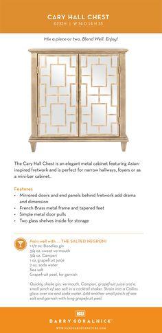 Hall Chest, Mirror Door, Foyer, Dining Room, Doors, Inspiration, Furniture, Biblical Inspiration, Home Furnishings