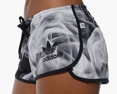 Smoke detail adidas shorts