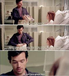 #PLL #6x18 this is one of the reasons i love this pair so much, they weren't even together at this point and he still came to her side and brought her everything she needed.