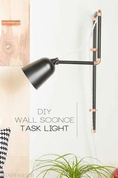 DIY Sconce Light Inspiration: Most people shy away from DIY electrical lamp wiring projects for understandable, yet unfortunate reasons. But a smart scone project can provide some of the most space-efficient lightings you can get. Here are 4 detailed DIY tutorials showing just how easy DIY lighting can be.