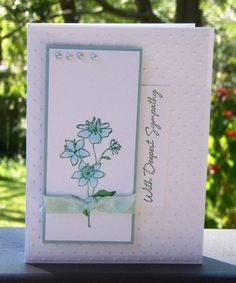 QFTD178   Deepest Sympathy by sue28 - Cards and Paper Crafts at Splitcoaststampers