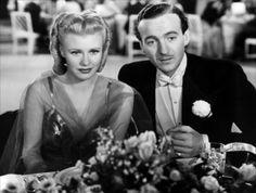 Ginger Rogers and David Niven inBachelor Mother (1939).