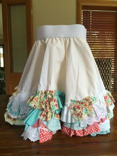 Rags to riches skirt