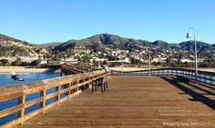 Ventura Pier looking towards the city. - Images by Sunny Oberto