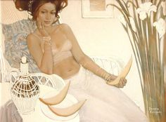 Beautiful Women by Russian Artist Valeria Kotsareva. Обсуждение на LiveInternet - Российский Сервис Онлайн-Дневников