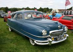 1951 Nash Ambassador, this is the first car I remember my family having