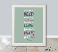 Dr. Seuss Reading Quote