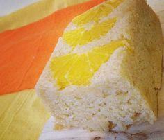 Orange Lemon Pudding Loaf
