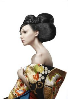 gelled hairstyles : ... of Geisha on Pinterest Geisha Hair, Geishas and Memoirs Of A Geisha