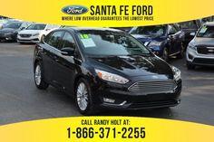 Used 2018 Ford Focus Titanium FWD Sedan For Sale Gainesville FL - 39573P Used Ford Focus