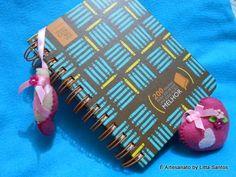 Marcador de páginas: Sapatilha de Ballet by Litta Santos