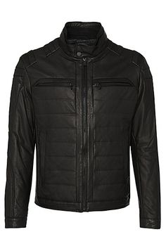 Hugo Boss - Nascin Leather jacket