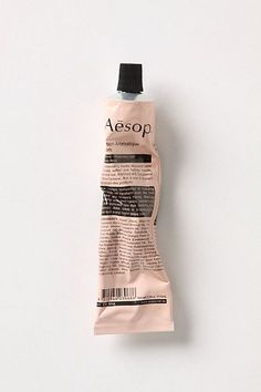 Aesop hand cream - absolutely the best! So proud that Aesop started here in Australia Beauty Packaging, Brand Packaging, Packaging Design, Product Packaging, Food Packaging, Label Design, Web Design, Type Design, Colors