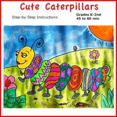 Caterpillar Christian Art Lesson