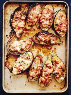 Recipe: Melazne Repiene alla Pugliese (Stuffed Eggplant Puglia Style)