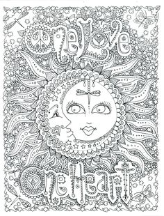 One Love Poster by Chubby Mermaid on Etsy.com