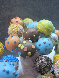 Just plain cool cakepops