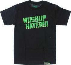Shake Junt Wussup Haters Spray T-Shirt - new at Warehouse Skateboards! #newarrivals #skateboards
