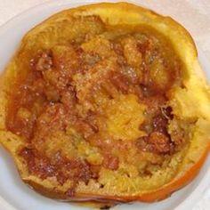 #recipe #food #cooking Spiced Acorn Squash