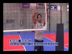 How to Block a Volleyball Indoor - Techniques