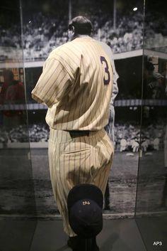 The Babe's uniform Yankees Baby, Ny Yankees, Baseball Field, Baseball Hats, Best Diamond, 4 Life, Baseball Caps, Caps Hats, Baseball Cap