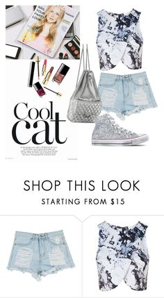 """Chilling"" by hordalinich on Polyvore featuring Topshop, Chanel and Converse"