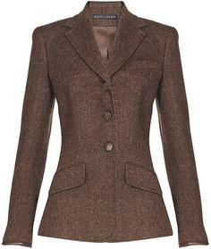 40cb1aa92f33 Custom Riding Jacket - Lyst Brown Blazer, Brown Jacket, Ralph Lauren  Blazer, Horse