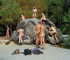 One writer sets out to explore the country's widespread culture of nudity — and tries it on for herself.