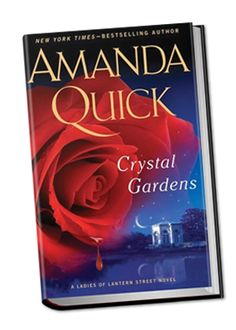 Love all the books that Amanda Quick writes. Also getting into the ones that Jayne Ann Krentz and Jayne Castle (all the same writer). Love IT!