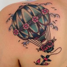 Ballon tattoo