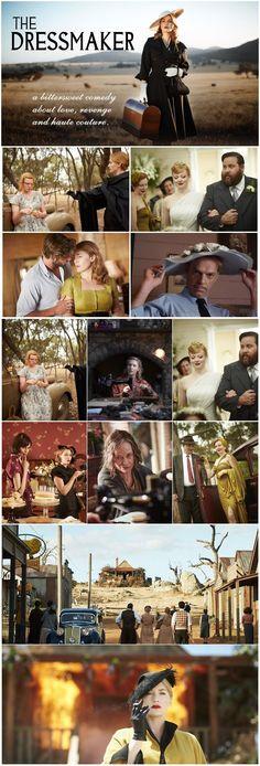 The Dressmaker Dressmaker, Comedy, Film, Books, Movies, Movie Posters, Haute Couture, Movie, Libros