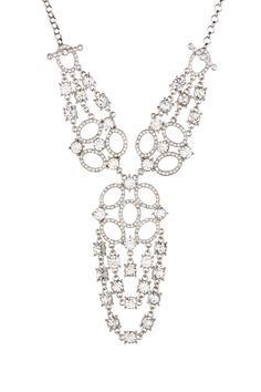 Nina Jewelry | Jemma Dramatic Convertible Crystal Necklace