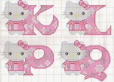 Hello Kitty KLPQ pattern by ♥ Korsstygns-Arkivet ♥