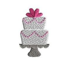 Mini Wedding Cake - 3 Sizes! | What's New | Machine Embroidery Designs | SWAKembroidery.com Sew Cha Cha