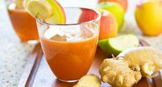 """Suco desintoxicante """"queima-pneu""""  Ingredientes 1 ameixa-preta seca 2 fatias de abacaxi 3 folhas de hortelã 1 copo (200 ml) de água de coco 1 colher (sopa) de semente de linhaça dourada  Modo de fazer Deixe a ameixa hidratar por oito horas na água dentro da geladeira. Junte aos outros ingredientes e bata no liquidificador. Beba imediatamente sem coar."""