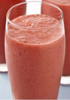 Strawberry-Yogurt Smoothie \u2013 The best strawberry smoothie you\u2019ve ever had is ready for the making in your own blender. Just four ingredients whirl together into a frothy, flavor-infused smart snack. #weightlosstipsforwomen