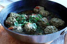 Marrokanske kjøttboller med urter og sitron