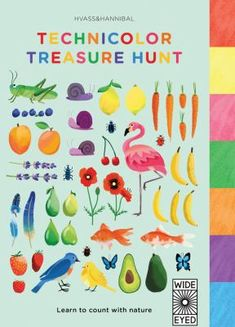 Learn to count from one to ten with this nature-inspired treasure hunt. Turn the tabs to discover all the colors of the rainbow and discover 70 first words to see and say.