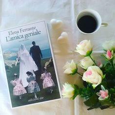 """Desideravo questo libro da non so quanto tempo e grazie ai regali libreschi (e che regali! Piano piano ve li mostriamo tutti) per il nostro compleanno da parte dei nostri amici oggi finalmente lo inizio!  """"L'amica geniale"""" è il primo capitolo della famosissima tetralogia di Elena Ferrante.  Ho sentito parlare più che bene di questa serie e sono curiosissima di conoscere le due protagoniste!  Lo avete letto? Che ne pensate? G.  #elenaferrante #edizionieo #libri #leggere #lettura #leggendo…"""