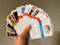 """to help our students remember and own the ideas and tools that they learned in """"designing your life"""" and """"designing your stanford,"""" i created this take-away deck of cards. each card distills one nugget of material that we cover in class. """"dyl"""" has 43 cards; """"dys"""" has 28. the first edition was printed and distributed to students in both classes at the end of fall quarter 2013."""