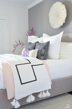 Shades of Pink Spring Home Tour