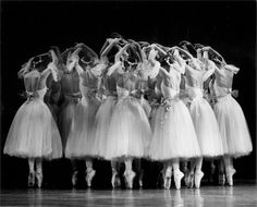 Artists of The Australian Ballet in Giselle. Photography Branco Gaica