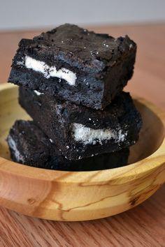 Ice Cream Before Dinner: Best Oreo Stuffed Brownies