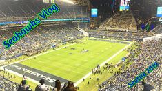 Seattle Seahawks - My FIRST ever Vlog!! GoPro Hero 8!