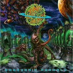 Barnes & Noble® has the best selection of Rock Heavy Metal CDs. Buy Rings Of Saturn's album titled Embryonic Anomaly to enjoy in your home or car, or gift Dark Fantasy Art, Dark Art, Rock N Roll, Rings Of Saturn, Cool Album Covers, Metal Albums, Metal Artwork, Death Metal, Metal Bands